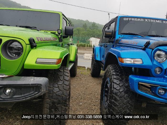 JK랭글러 07-17년 JL타입 메가와이드 휀더플레어 ★국내최초★